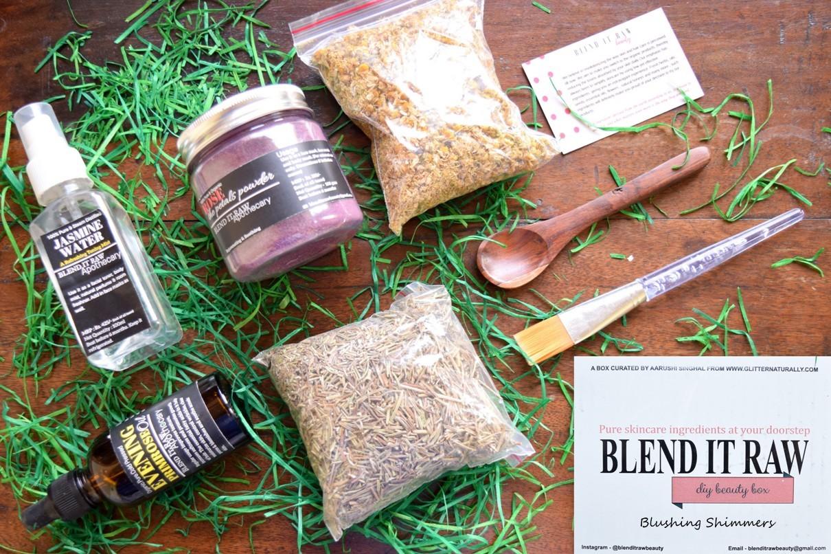 Blend It Raw DIY Beauty Box