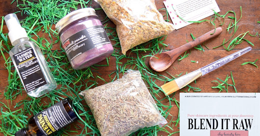Blend It Raw DIY Beauty Box Review