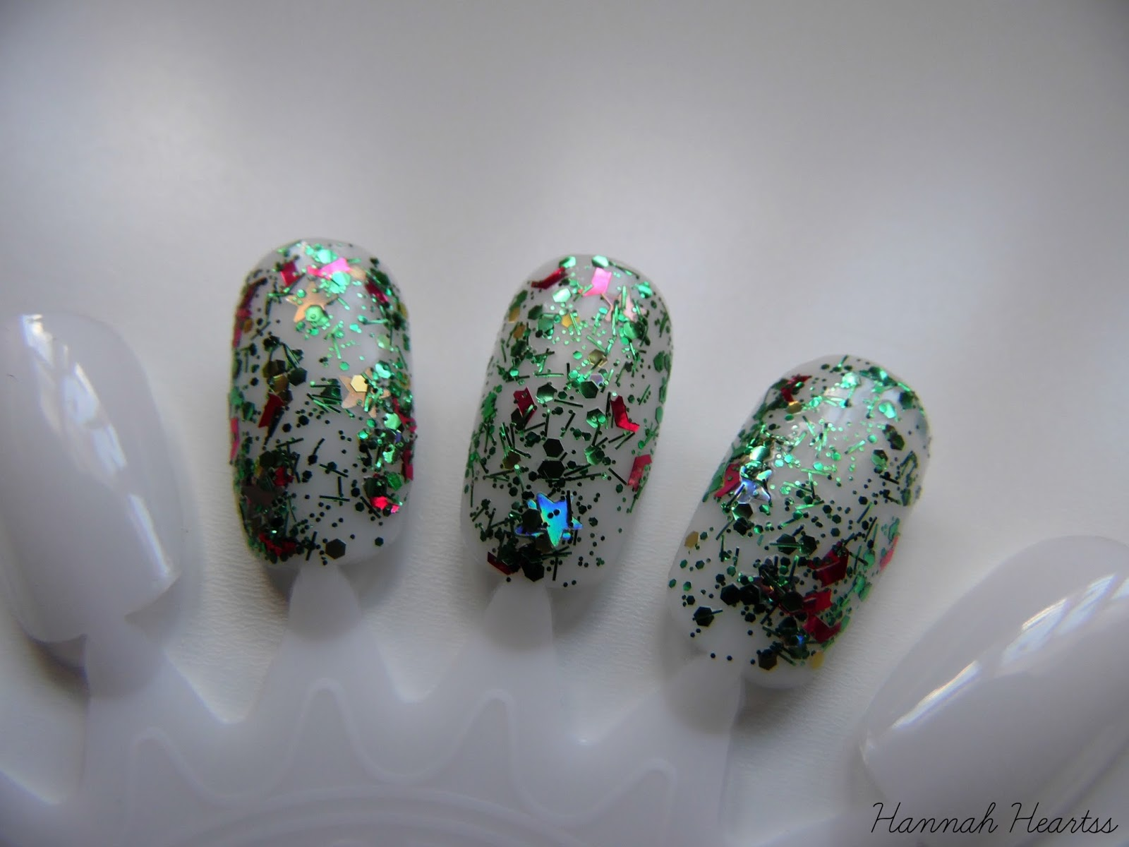 Barry M Christmas Tree Nail Polish Swatch