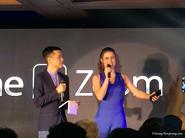 Yassi Pressman , Asus 3 Zonfone Zoom brand ambassador