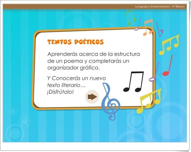 """""""Textos poéticos"""" (Literatura de Educación Primaria)"""
