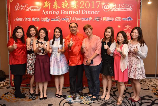 Golden Destinations CNY Dinner Grand Palace Pavilion KL featuring Jack Lim 林德荣 财神爷