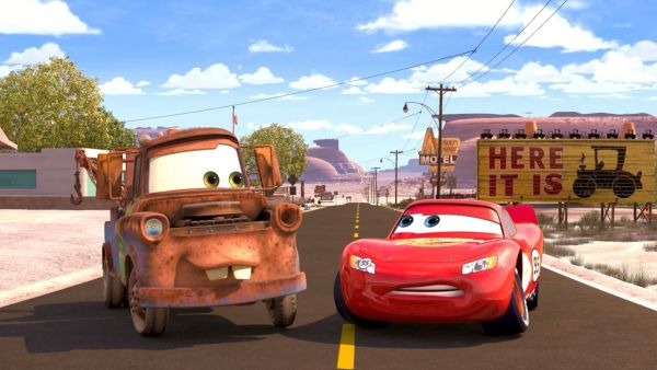 LIGHTNING MCQUEEN: Do you really expect me to believe that?