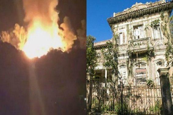 Incêndio atinge parte dos estúdios da novela ´Espelho da Vida´, da Globo