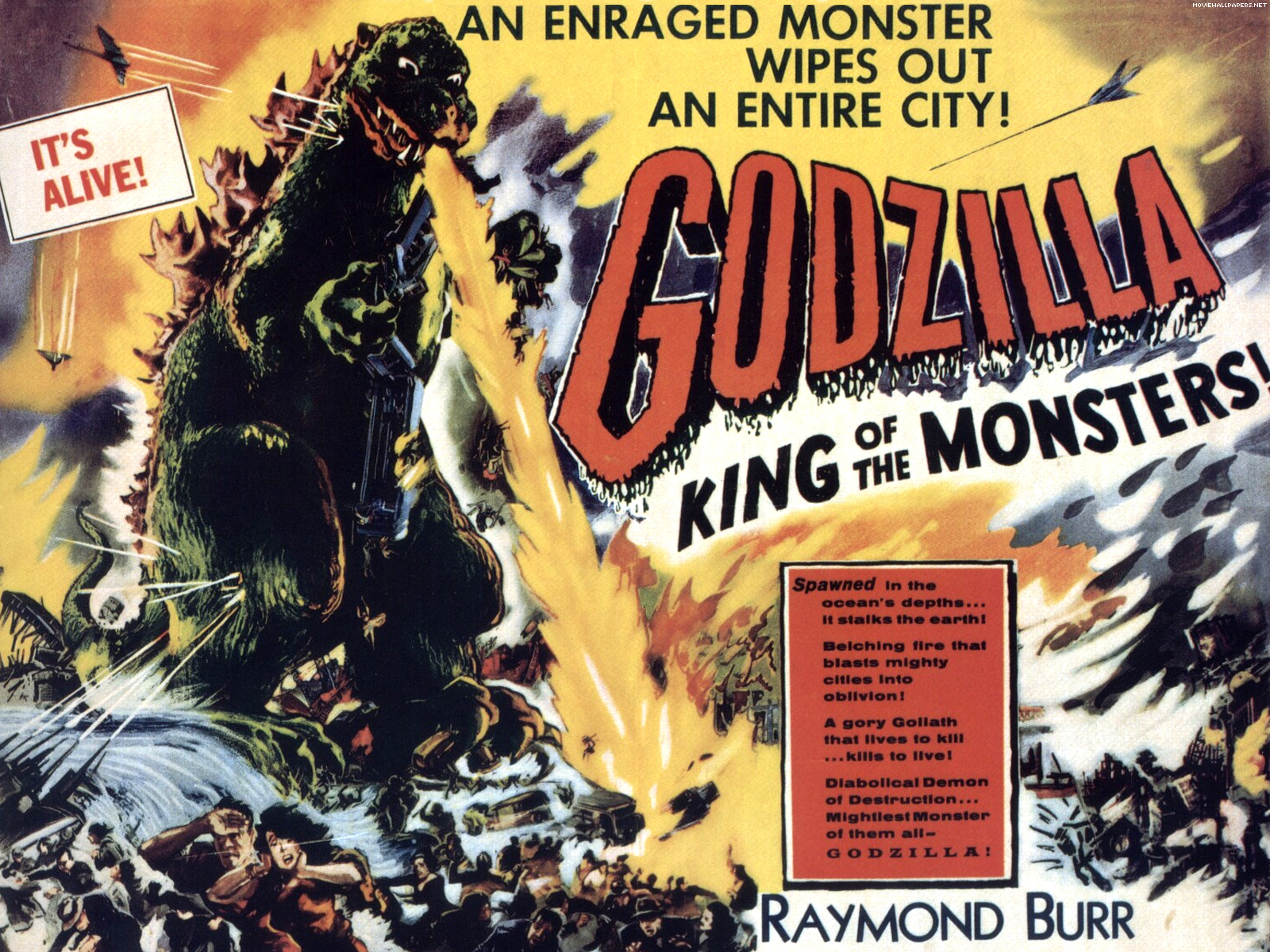 Godzilla+King+Of+The+Monsters 02 Godzilla Shows Up In The Greatest Weather Report Ever