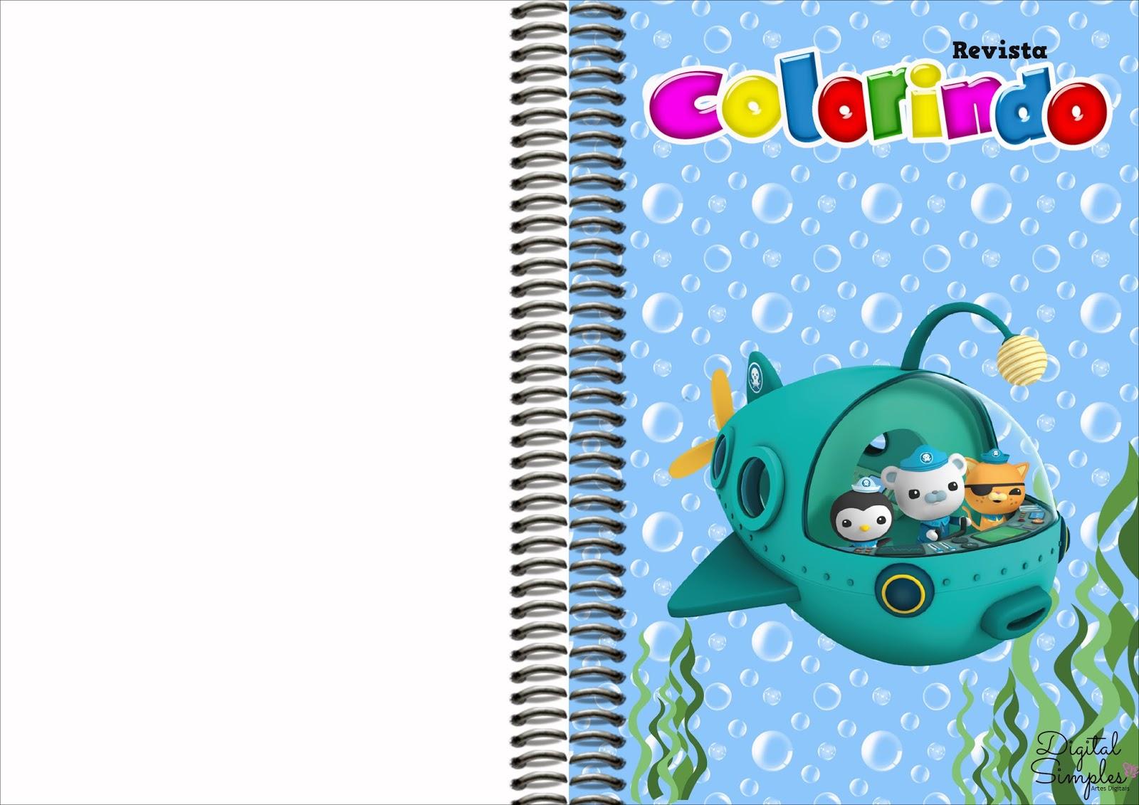 Lujo Octonautas Para Colorear Imprimibles Ilustración - Enmarcado ...