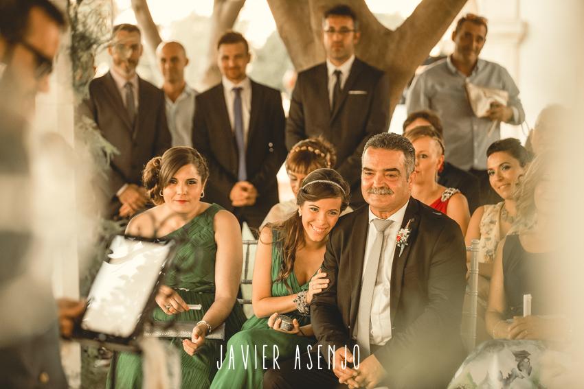 ceremonia boda finca villa vera risas
