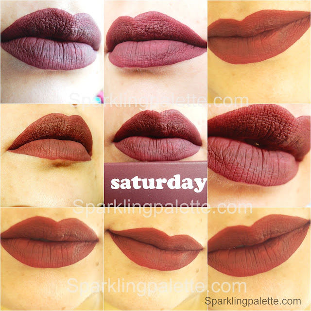 #SPB #Saturday #Colourpop