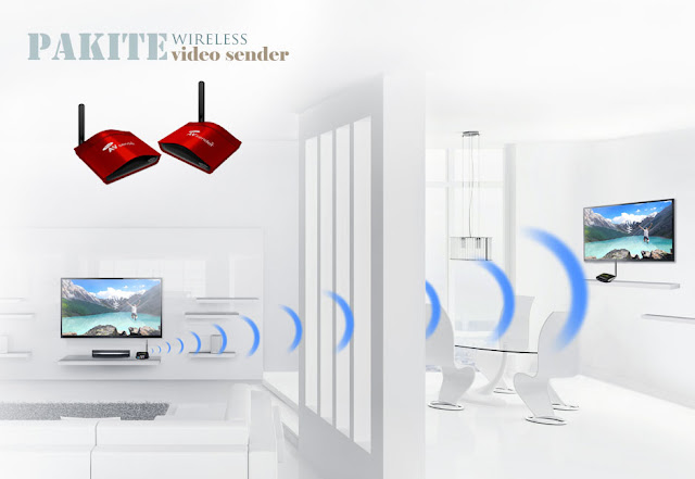 5.8GHz Wireless Audio/Video Sender with IR Remote Control Extender PAT-556
