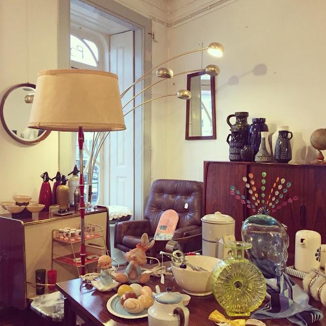 loja vintage, a Porta Verde, Aveiro, móveis vintage, nórdico, decoração vintage