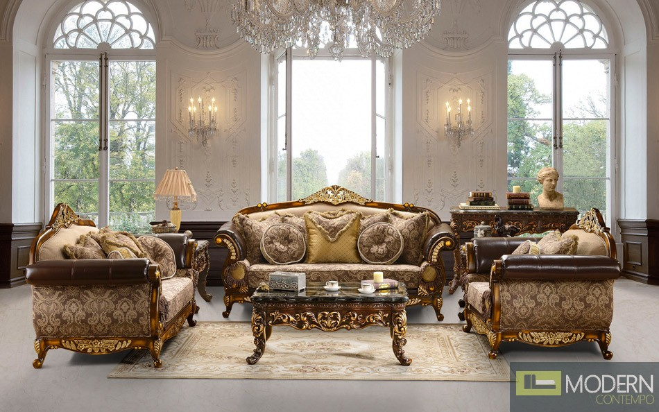 Luxury Classic LIVING ROOM FURNITURE Sets