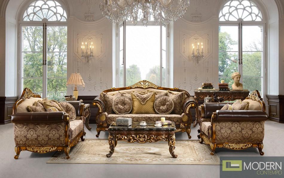 Luxury Classic LIVING ROOM FURNITURE Sets