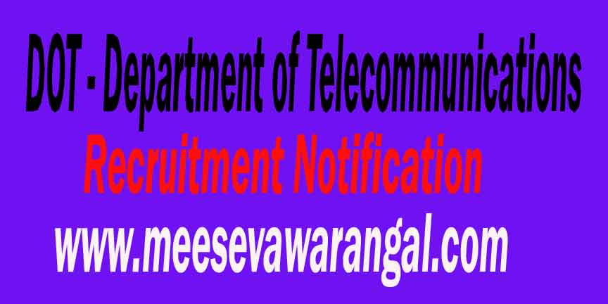 Department of Telecommunications