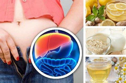 5 boissons de nuit pour d toxifier le foie et perdre du poids. Black Bedroom Furniture Sets. Home Design Ideas