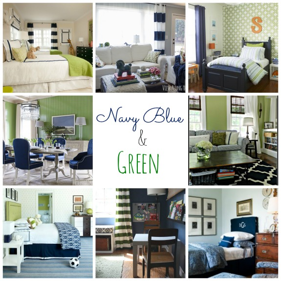 Lovely Green And Navy Bedroom Navy Blue And Green Living Room Kaisoca Com  ... Part 90