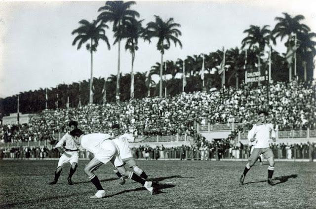Brasil y Chile en Campeonato Sudamericano de 1919