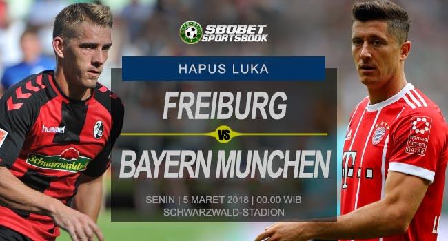 Prediksi Freiburg vs Bayern Munchen 5 Maret 2018
