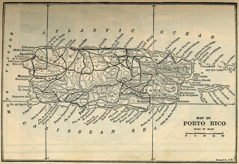 Mapas de Porto Rico | Estados Unidos da América