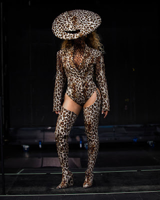 Beyonce rocks head to toe Leopard Prints