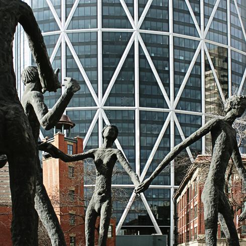 Calgary Alberta Downtown
