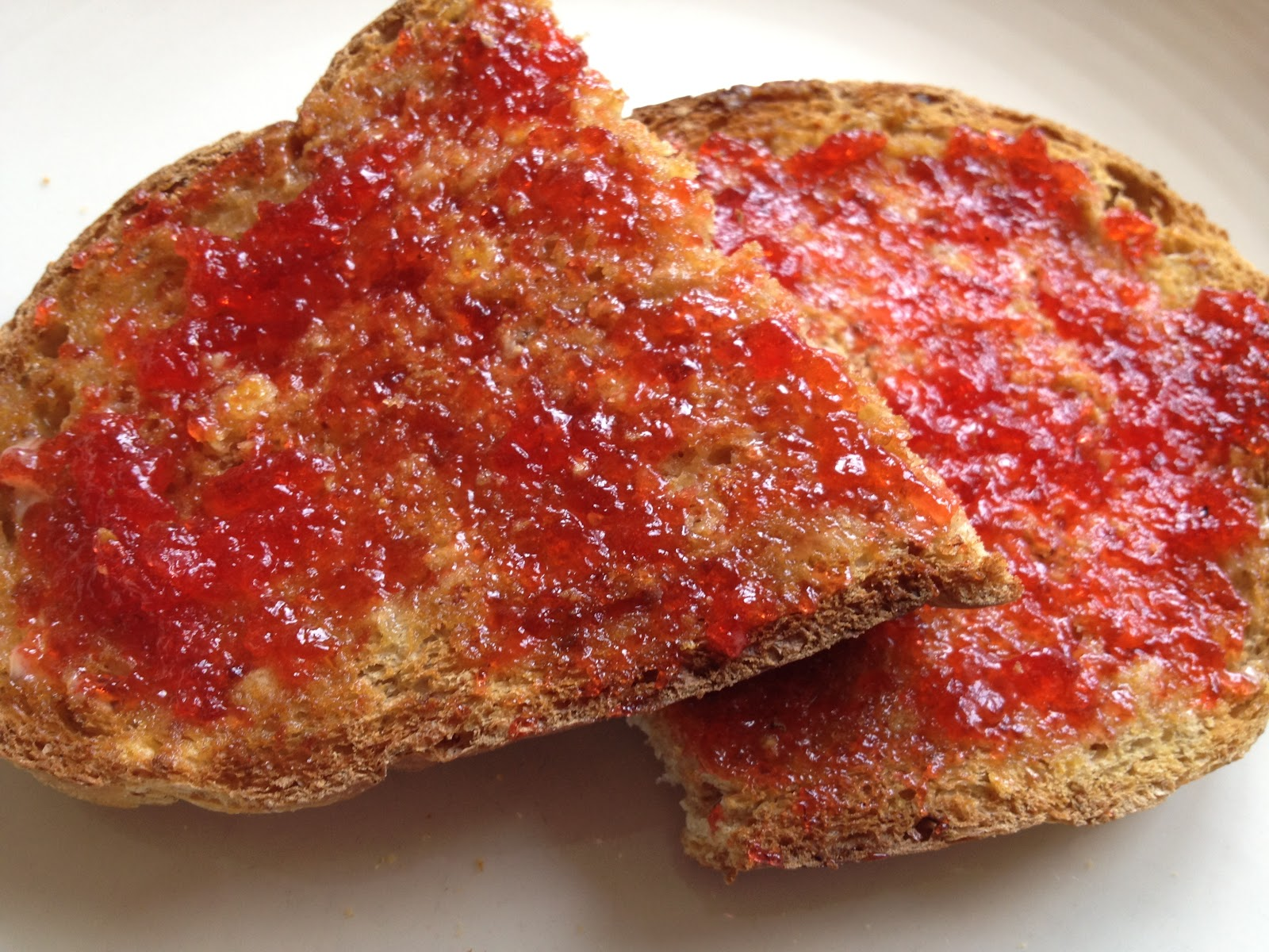 Could There Be Anything Better Than Strawberry Jam On Toast