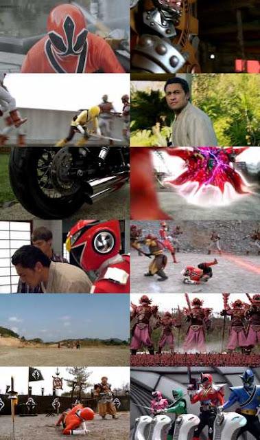 Samurai Clash Of The Red Rangers