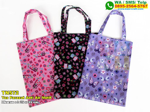 Tas Parasut Anti Air Motif