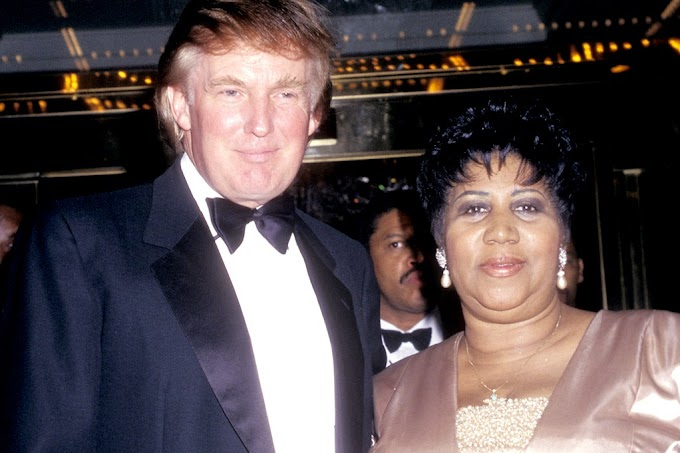Donald Trump Pays Respects To Aretha Franklin On Twitter