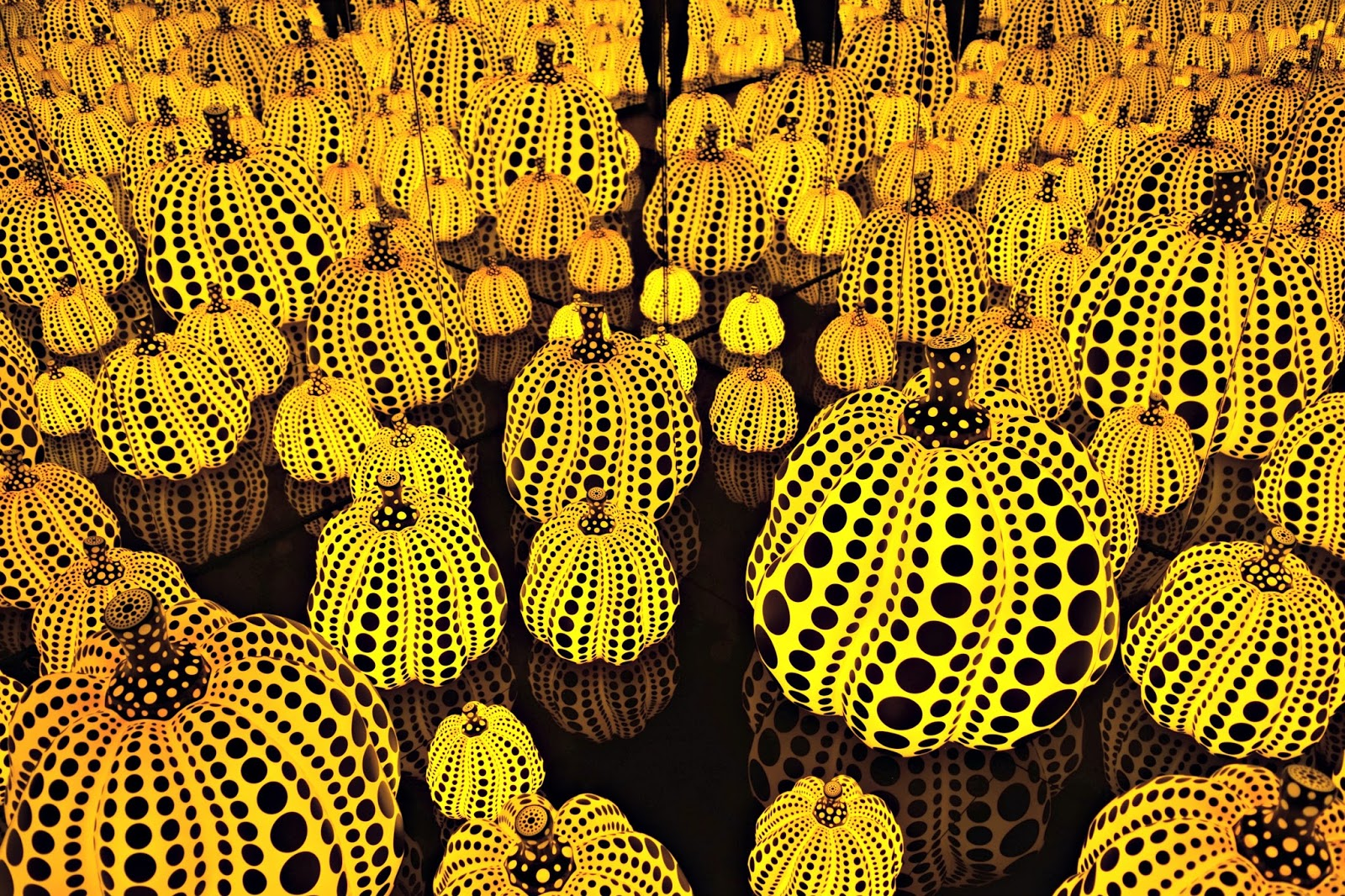 All the eternal love I have for the pumpkins Yayoi Kusama