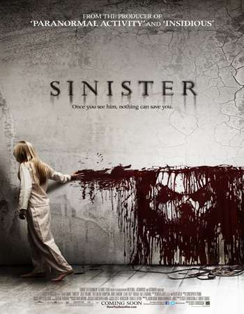 Poster Of Sinister 2012 Dual Audio 300MB BRRip 480p ESubs Free Download Watch Online downloadhub.net