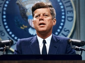THE PRESIDENT OF THE UNITED STATES OF AMERIKA J.F. KENNEDY