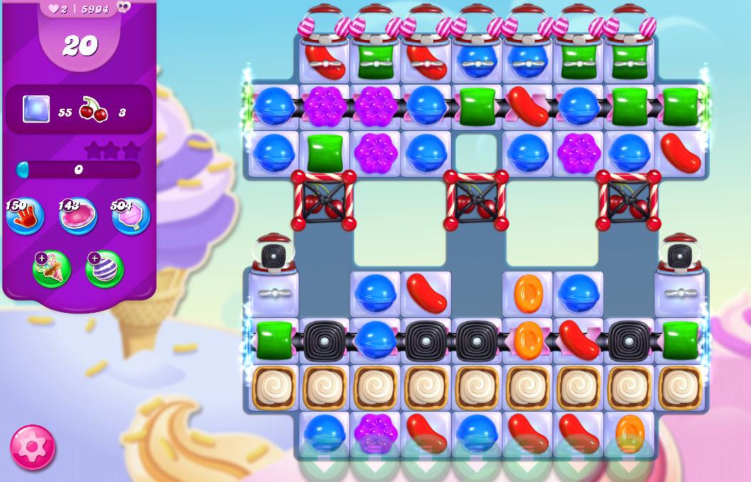 Candy Crush Saga level 5904