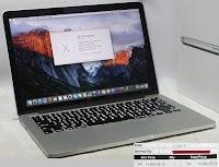 Macbook Pro Retina Early 2015 Baru Beli Agustus 2015