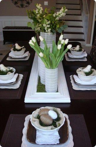 stół wielkanocny inspiracje