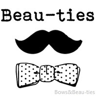 Bows and Beau-ties, Beau-ties, Men's Fashion, logo, mustache