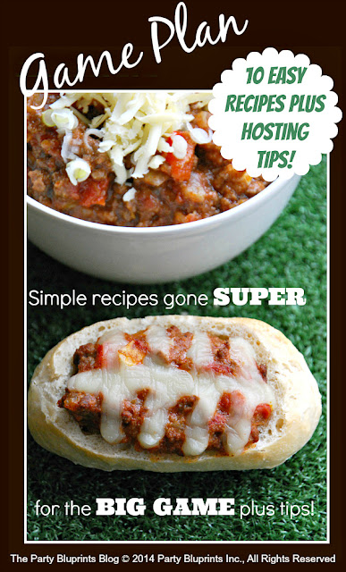 http://www.partybluprintsblog.com/party-themes/10-simple-super-bowl-recipes-party-game-plan/