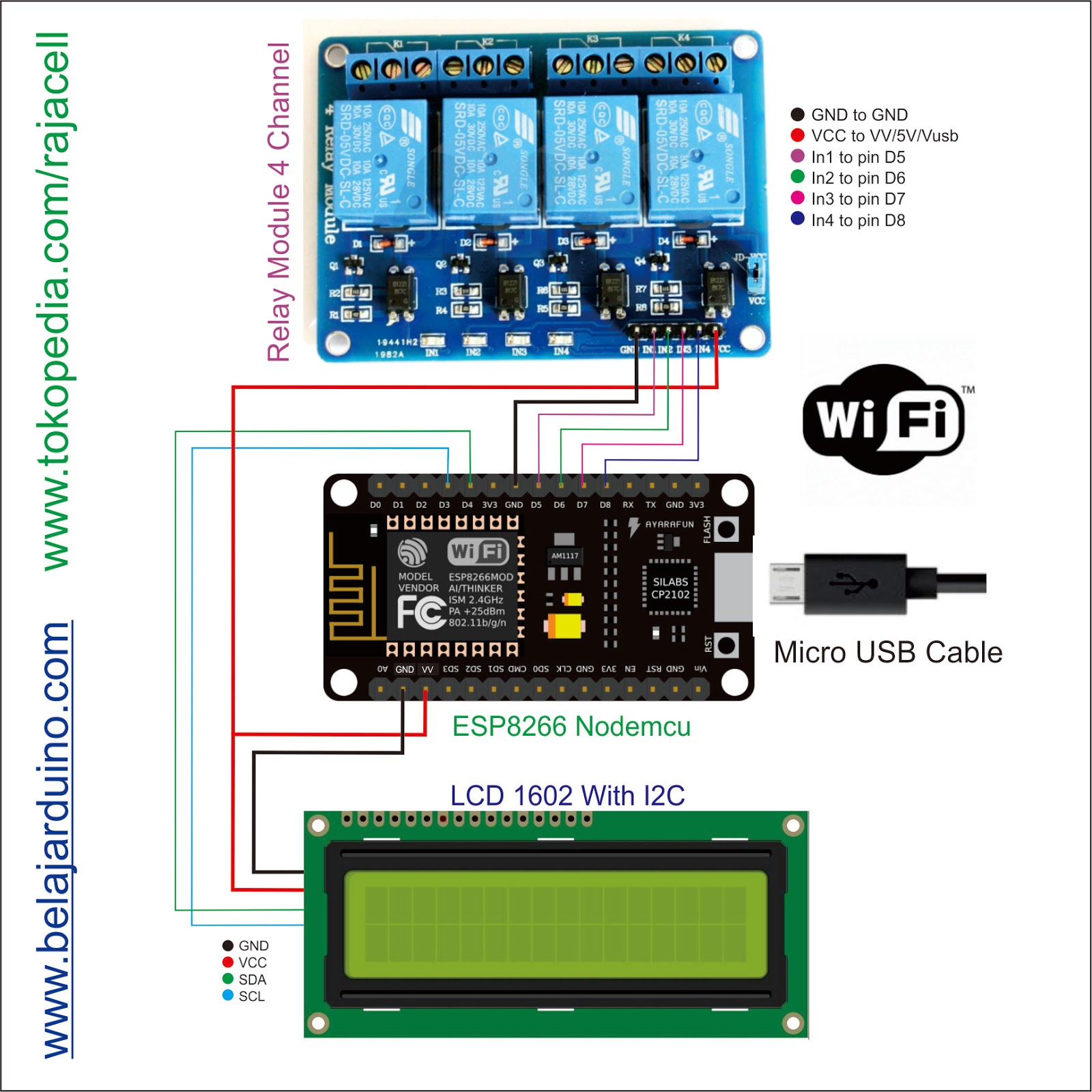 Nodemcu%2B4%2BRelay Ke Relay Wiring on relay computer, relay coil, relay parts, relay connections, relay switch, relay lights,