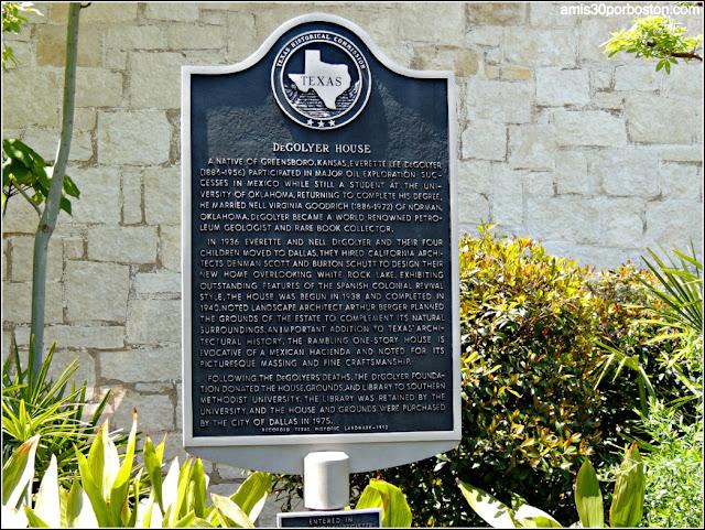 Casa DeGolyer en el Dallas Arboretum & Botanical Garden