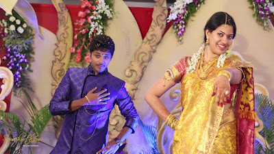 Geetha Madhuri and Nandu engagement photos