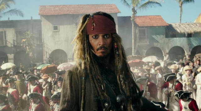 Jack Sparrow, juste après avoir appris qu'il allait rempiler pour un sixième film