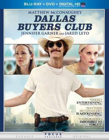 Poster Of Dallas Buyers Club 2013 English 350MB BRRip 480p ESubs Free Download Watch Online Worldfree4u