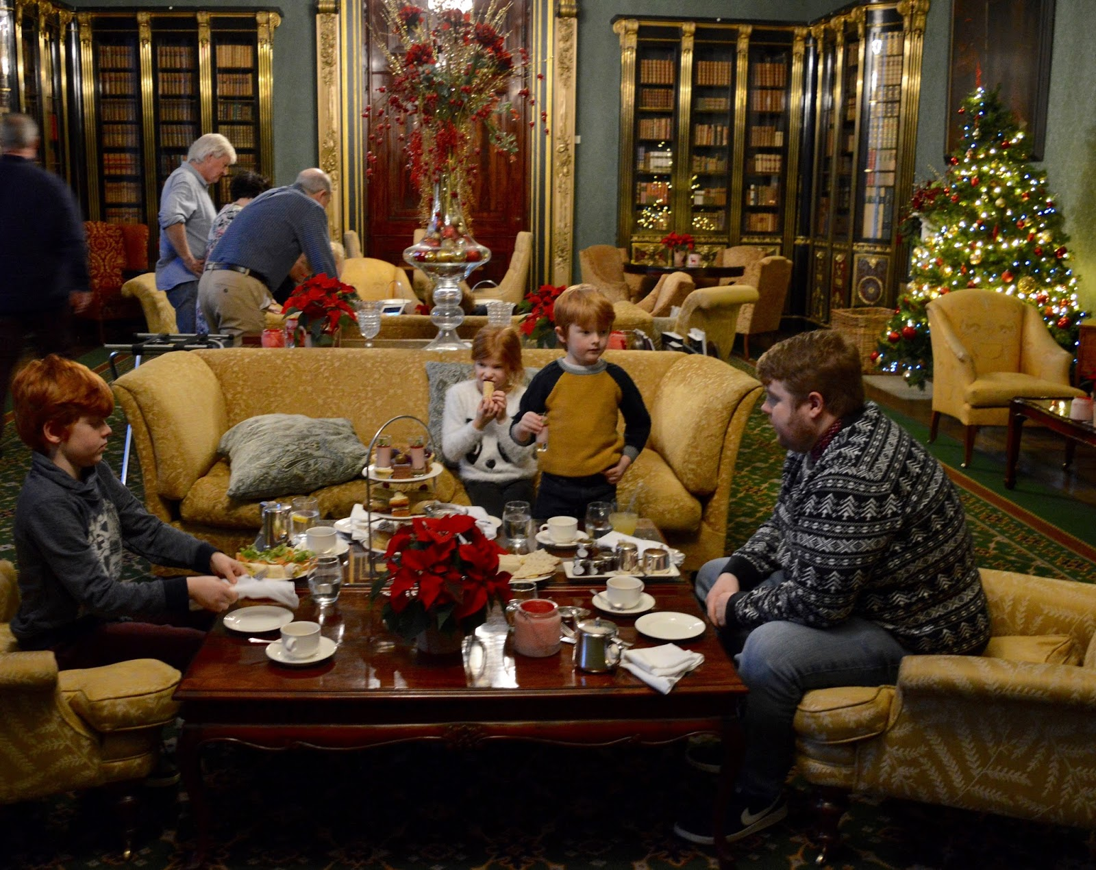 Afternoon tea at Wynyard Hall (with kids) - A Review - lounge