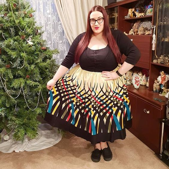 Voodoo Vixen Curve Jean plus size Dress