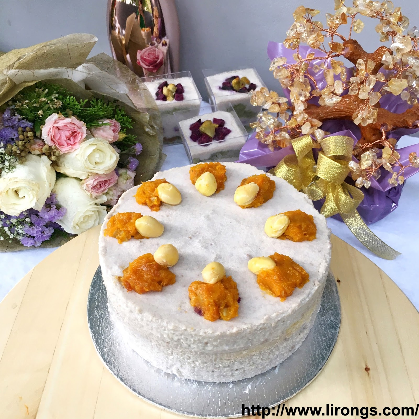 Lirong A Singapore Food And Lifestyle Blog Recipe Orh Nee Cake