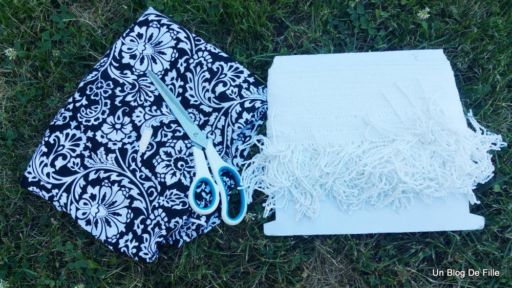 Un blog de fille: DIY | Serviette ronde de plage