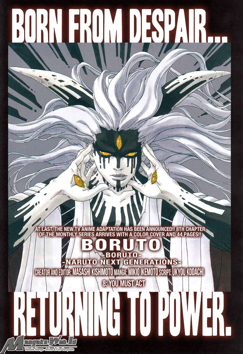 Boruto : Naruto Next Generation Chapter 8