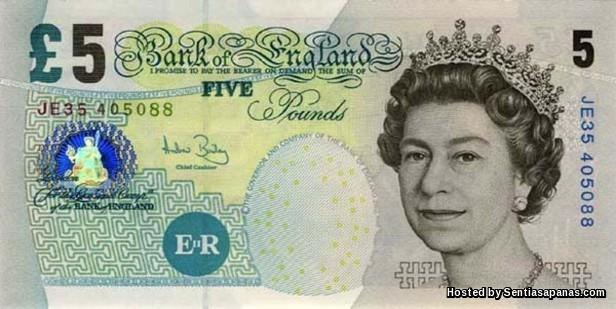 Pound Sterling Britain