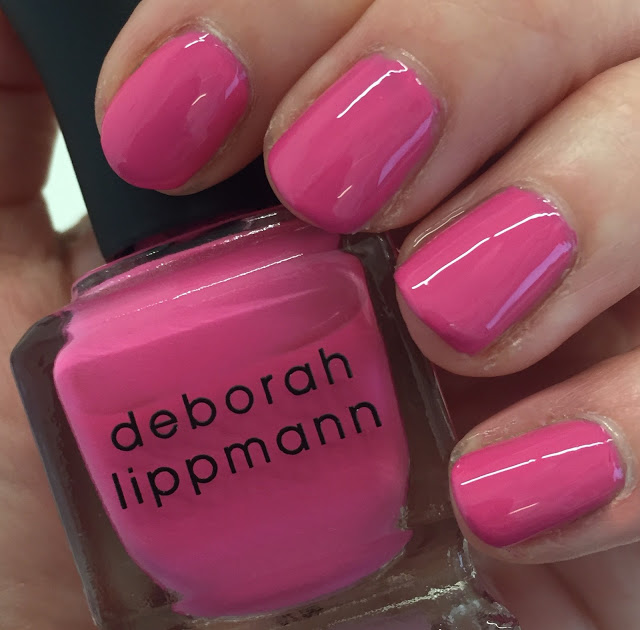 Throwback Thursday, #tbt, manicure, nails, nail polish, nail lacquer, nail varnish, Deborah Lippmann Whip It