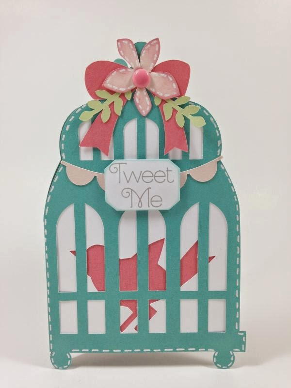 Close To My Heart Artfully Sent Bird Cage card