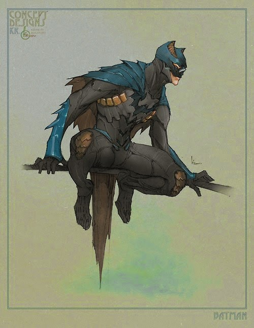 Batman Beyond Concept Art